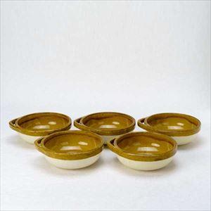【セット】カセロラ オーブンとんすい 白/黄 5点セット/4TH-MARKET