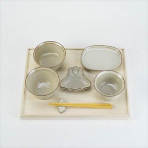 OKUIZOME / Tableware set / White / amabro