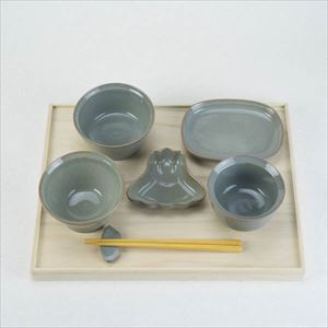OKUIZOME / Tableware set / Gray / amabro
