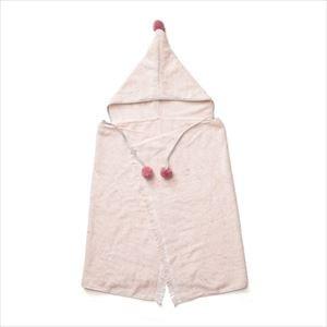 BAB PONCHO Pink/おくるみ・バスタオル/amabro