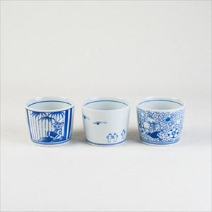 MOOMIN SOMETSUKE -猪口- 3個組スリーブセット/そば猪口/amabro_Image_1
