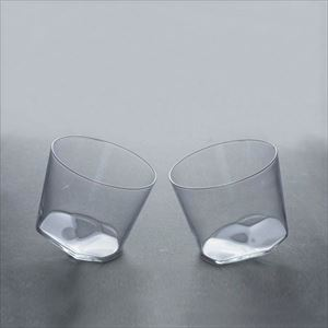 [Set] Pair KANNA GLASS / Whiskey glass / Kimura glass