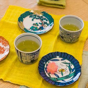[Set] Kutani and Arita set / Snufkin & Little My / Moomin series / Soba choko cup and plate / amabro_Image_2