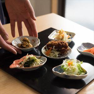 【セット】MAME トラディショナルセット 5枚組 桐箱入/豆皿/amabro_Image_2