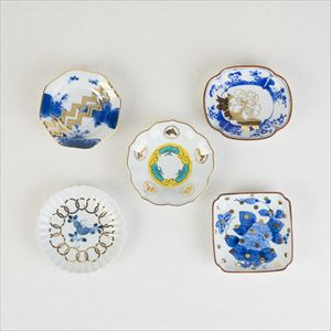 [Set of 5] Buyer recommended set / MAME series / Mamezara plate / amabro