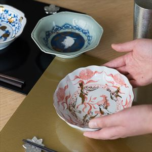 【セット】NAMASU & CHOKU 蛸唐草松竹梅セット 化粧箱入 /中鉢 猪口/amabro_Image_2