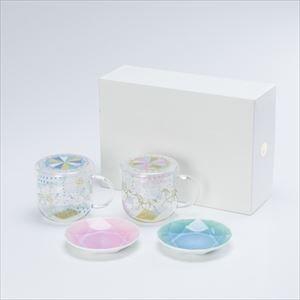 【セット】ティーメイト メリーゴーランドペア&Arita Jewel Round 2枚セット 化粧箱入