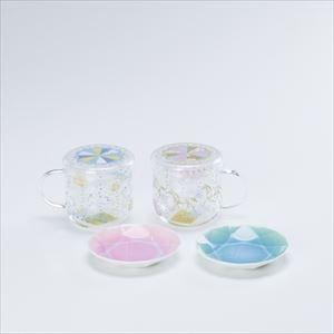 【セット】ティーメイト メリーゴーランドペア&Arita Jewel Round 2枚セット 化粧箱入_Image_1