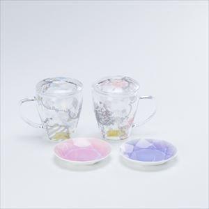 【セット】ティーメイト リリー・ローズペア&Arita Jewel Round 2枚セット 化粧箱入_Image_1