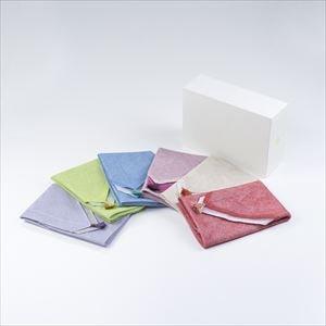 【セット】ふきん大 6色セット 化粧箱入/布巾/WDH