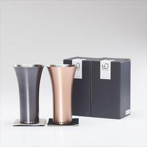 【セット】純銅製タンブラー マット&ブラウン ペアセット /WDH