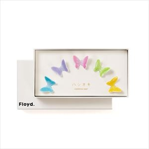 Butterfly chopstick rests / 5 colors set / Floyd