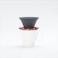 [Set] Caffe hat (Red) / Mug (Large White / Mat series)_Image_2