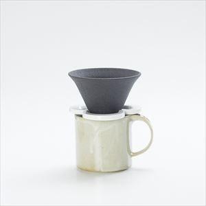 【セット】コーヒー道具 Caffe hat white &マグカップ/モデラート マグ グレー セット_Image_2