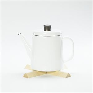 [Set] Pottle 1.5L White / Nabeshiki house Beech