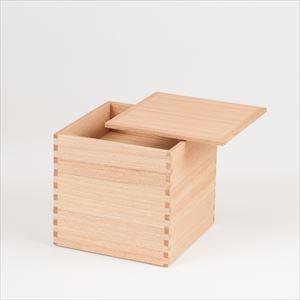 白木(タモ)の三段重 6寸重箱 ナチュラル/松屋漆器店