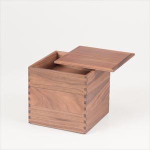 ウォールナットの三段重 6寸重箱 ナチュラル/松屋漆器店