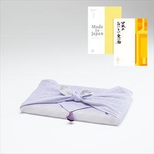 まほらま/NP06/大切な方に贈るカタログギフト+日本のおいしい食べ物 橙/布巾包