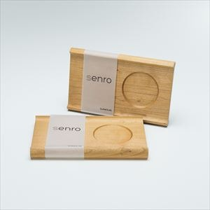 [Set] Pair board / SENRO / Wooden bread board /  S / Sunao Lab
