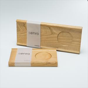 [Set] Pair board / SENRO / Wooden bread board / S&L / Sunao Lab