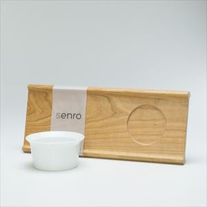 [Set] Enjoy soup & salad set / Bowl and Wooden bread board L