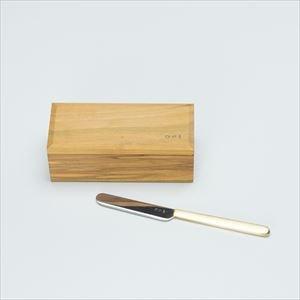 【セット】バターケース200グラム半切&バターナイフ/東屋