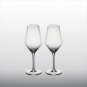 【セット】生涯を添い遂げるグラス ワイングラス シャンパーニュK ペア(木箱入)/WIRED BEANS