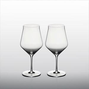 【セット】生涯を添い遂げるグラス ワイングラス ボルドーK(木箱入) ペア/WIRED BEANS