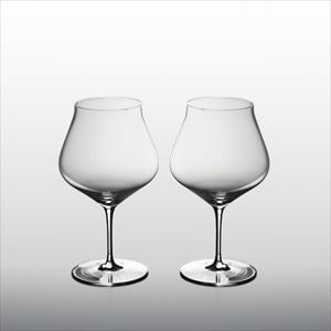 【セット】生涯を添い遂げるグラス ワイングラス ブルゴーニュK ペア(木箱入)/WIRED BEANS