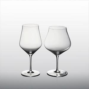 【セット】生涯を添い遂げるグラス ワイングラス ボルドー&ブルゴーニュ 2点セット(木箱入り)/WIRED BEANS