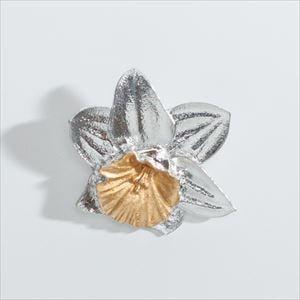 Flower Pin Brooch / Narcissus / Nousaku