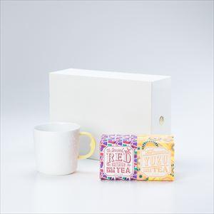 【セット】蛍手のマグで星座を眺めるひとときのための うれしの紅茶 RED & YUZU 化粧箱入