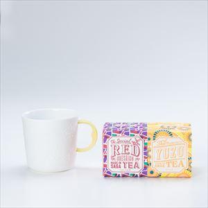 【セット】蛍手のマグで星座を眺めるひとときのための うれしの紅茶 RED & YUZU 化粧箱入_Image_1
