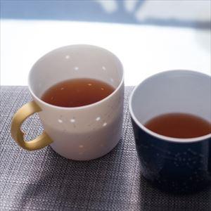【セット】蛍手のマグで星座を眺めるひとときのための うれしの紅茶 RED & YUZU 化粧箱入_Image_2