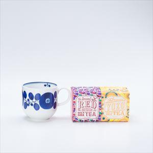 【セット】ブルーム リースマグでいただく うれしの紅茶 RED & YUZU 化粧箱入_Image_1