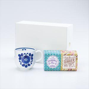 【セット】ブルーム ブーケマグでいただく うれしの紅茶 GINGER & CHAMOMILE 化粧箱入