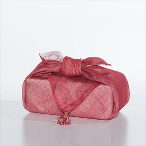 【セット】印判そば猪口 鳥と木と雨 ペアセット(化粧箱入り) 布巾包/東屋_Image_3