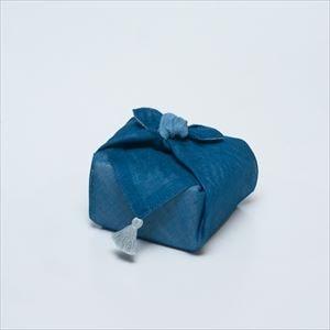 【セット】印判豆皿 4枚組モチーフ(化粧箱入) 青はんかち包/東屋_Image_3