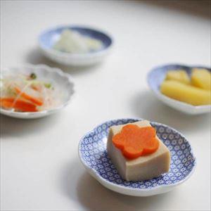 【セット】印判豆皿 4枚組丸型(化粧箱入) はんかち包/東屋_Image_2