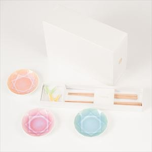 [Set] [Exclusive box] Arita Jewel & Butterfly 2 pairs / Green & Yellow / Floyd