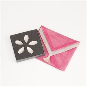 [Handkerchief wrapping] Chopstick Rest set / Sakura / Nousaku