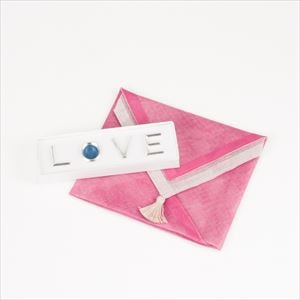 [Handkerchief wrapping] Chopstick Rest set / LOVE / Nousaku