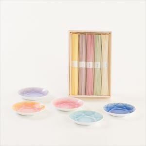 色どり可愛いそうめんとArita Jewelの5色セット 化粧箱入_Image_1