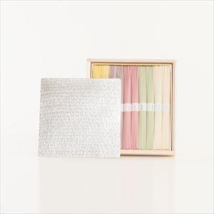 すずがみと五色そうめんの涼やかセット 18cm1枚 化粧箱入_Image_1