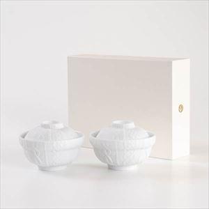 【セット】トレースフェース ドンブリ ニット ペア化粧箱入/丼/ セメントプロデュースデザイン