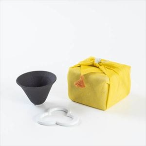 [Handkerchief wrapping] Caffe hat / Pour over cone / White / 224 porcelain
