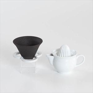 [Set] Drink for breakfast set / Caffe hat & Ceramic juicer