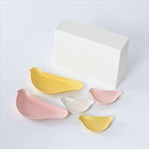 【セット】TORIZARA & KOTORIZARA お祝いにおすすめ華やか5羽セット 化粧箱入/ 取皿 豆皿/ Floyd
