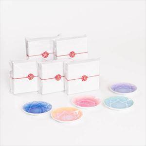 【お配りギフト】Arita Jewel Round 5点セット /梅水引ラッピング付/ 豆皿/ Floyd