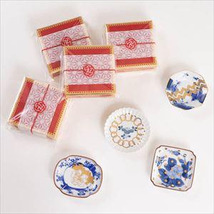 【お配りギフト】MAME トラディショナル 4点セット /梅水引ラッピング付/ 豆皿/amabro